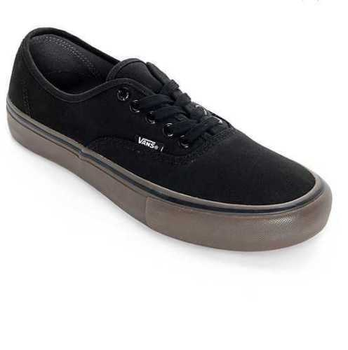 2f97451c63a9 New In Box Men s 7 Vans Authentic Pro Canvas Black Gum Skate Shoes 1 of  3Only 1 available ...