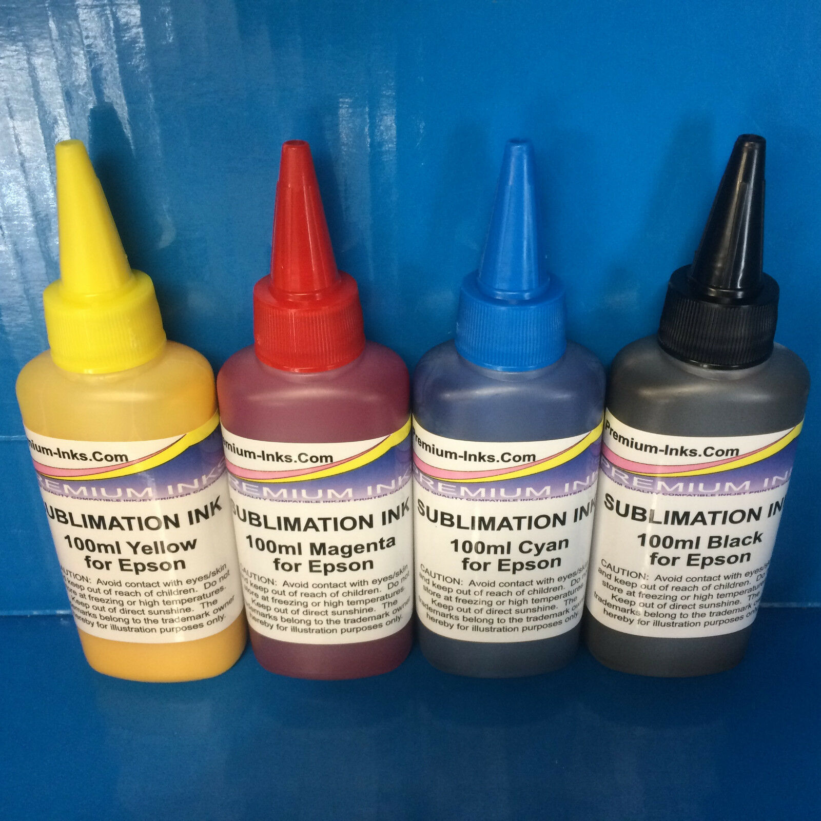 400ml Dye Sublimation Ink For Epson Workforce Wf 2010w 3010dw 2010 Tinta Sun Refill Kit Hp Black And Colour 1 Of 4free Shipping