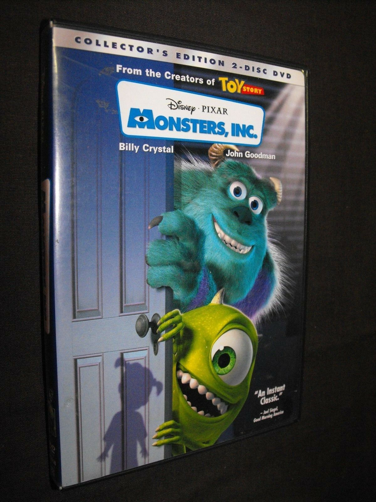 monsters inc dvd 2 disc set collectors edition clean plays great picclick ca. Black Bedroom Furniture Sets. Home Design Ideas