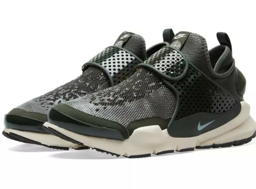 Nike Sock Dart MID SI NikeLab x Stone Island Green (910090-300) Sz 1 of  5Only 1 available ... dfff521140