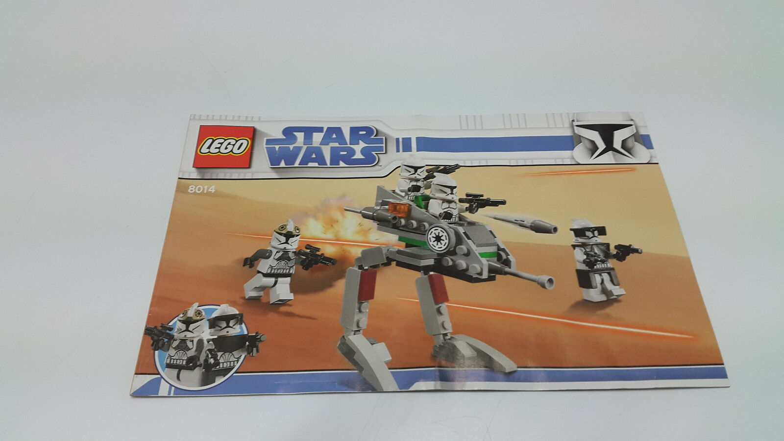 Lego Starwars Instructions Only For 8014 Clone Walker 199