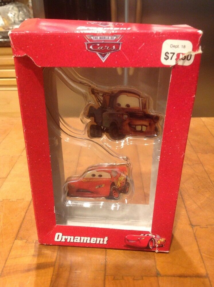 tomater and lightning mcqueen disney pixar cars movie christmas