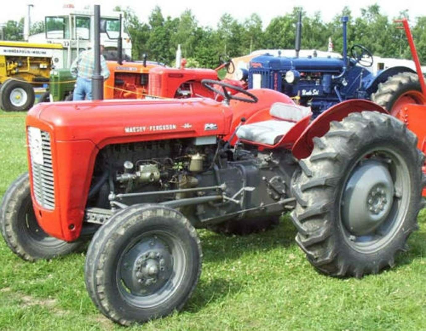 Massey Ferguson MF35 35 FE35 Shop Service Repair Manual & Parts List  Tractors CD 1 of 4FREE Shipping ...