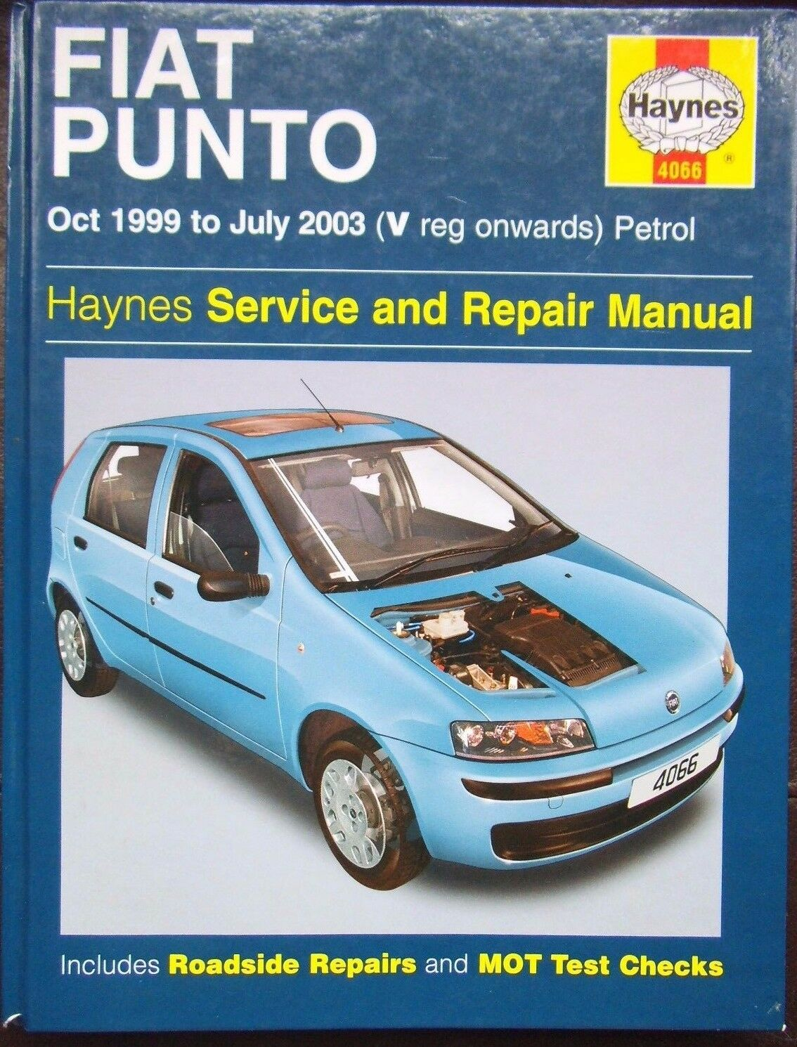 Fiat Punto (Petrol) Haynes Workshop Manual from 1999 to 2003. 1 of 4FREE  Shipping ...