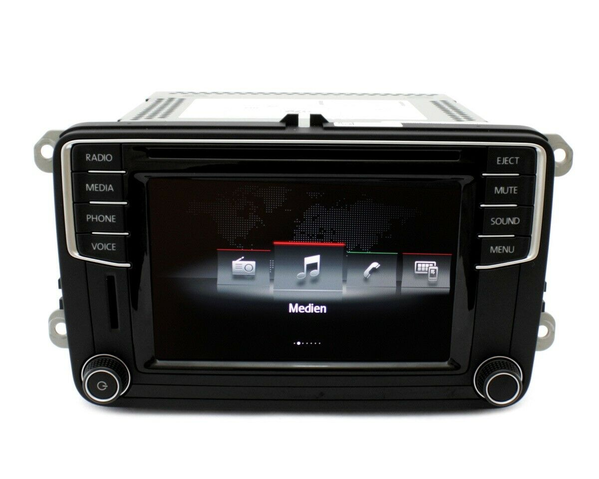 vw radio composition media original vw golf cabrio. Black Bedroom Furniture Sets. Home Design Ideas