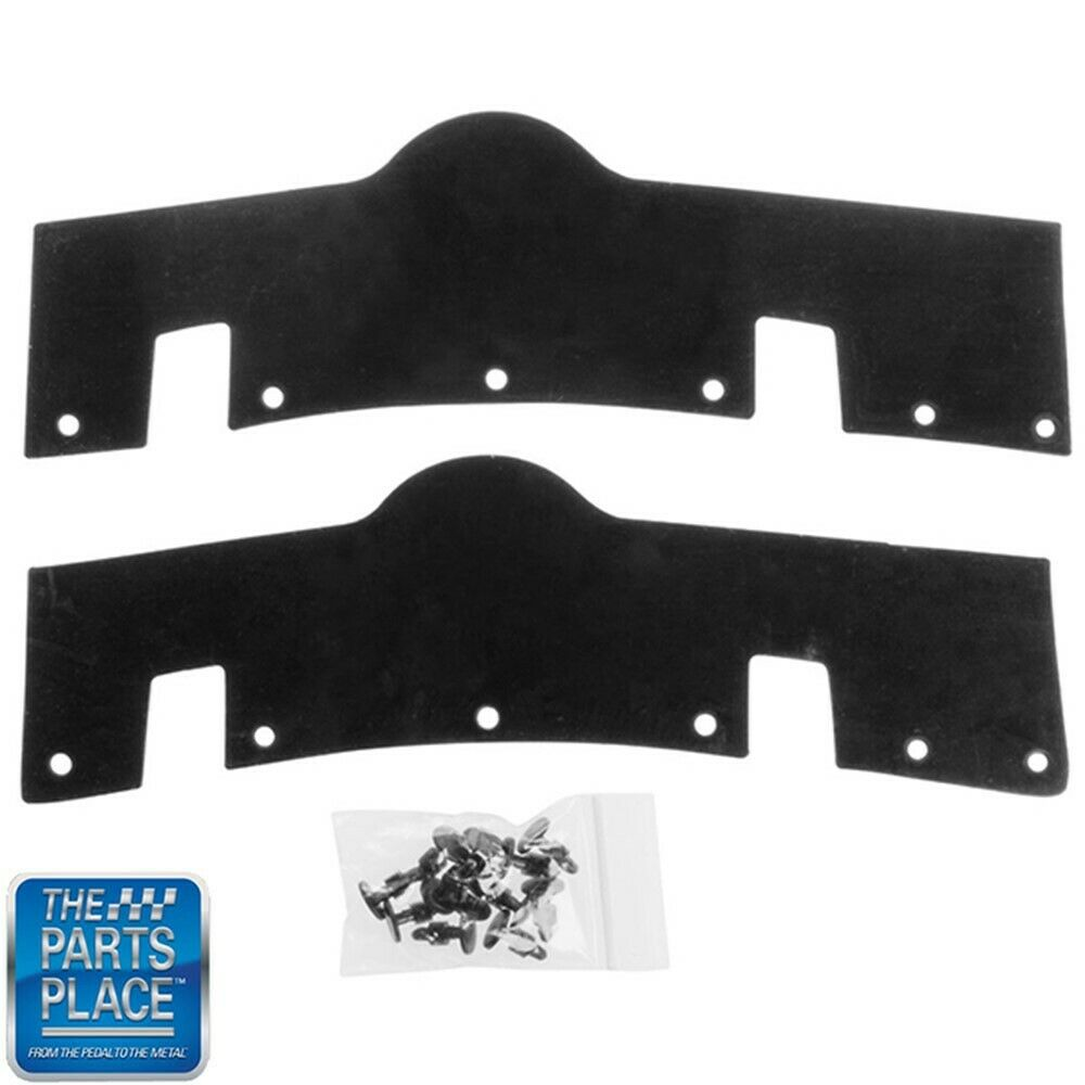1970 - 1972 Monte Carlo Rear Body To Bumper Seals PR • $34 00