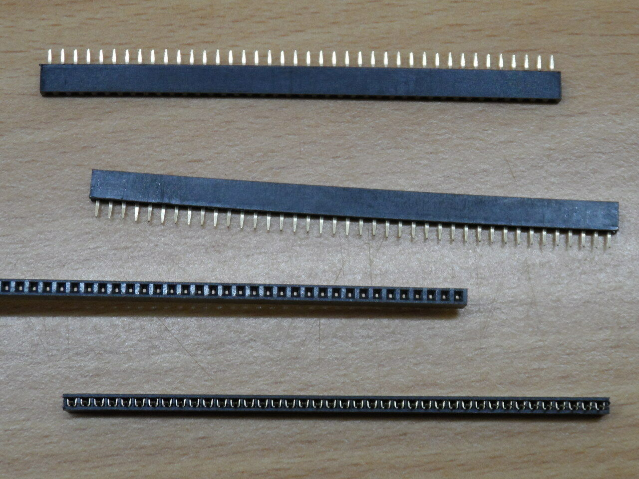 2x 2mm Pitch 40 Pin Sil Socket Way Sip Strip Female 304 Ic 8 Or 2x4 1 Of See More