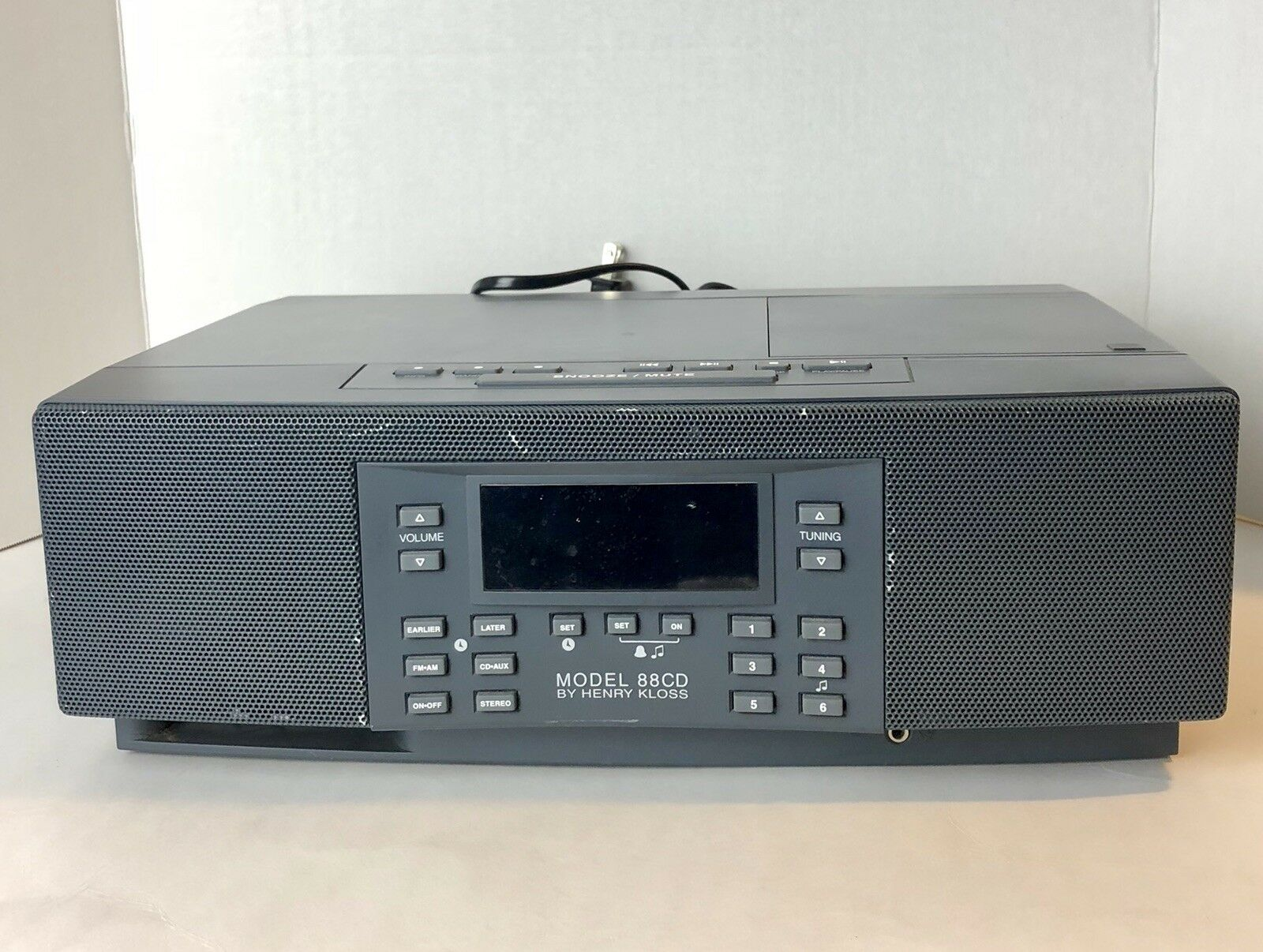 Model 88CD Radio By HENRY KLOSS of Cambridge SoundWorks Good Tested 1 of  5Only 1 available See More