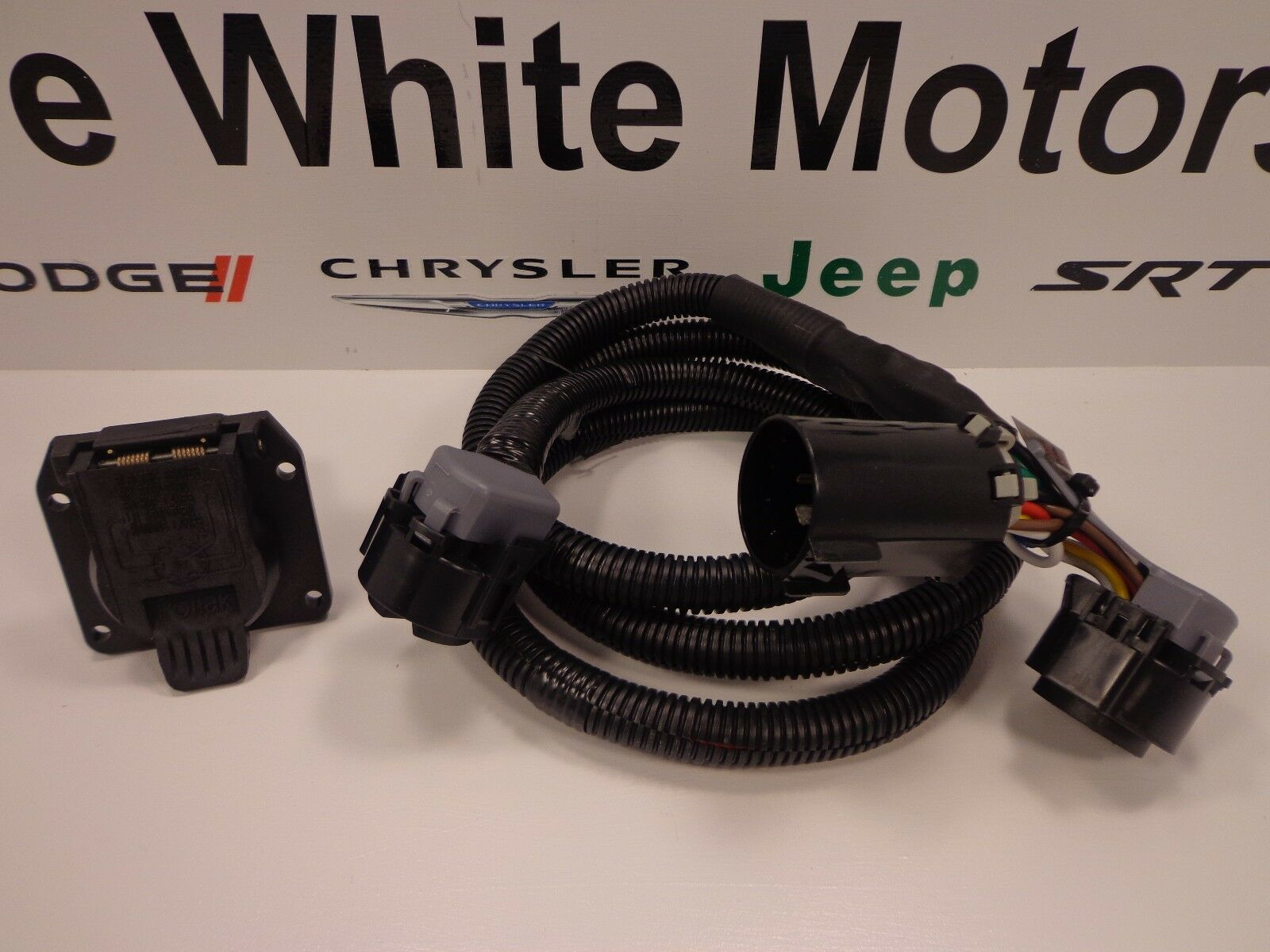5th Wheel Wiring Harness For Dodge Diagrams Fifth Trailer 13 18 Ram 2500 3500 Kit Gooseneck 7 Blade Connector