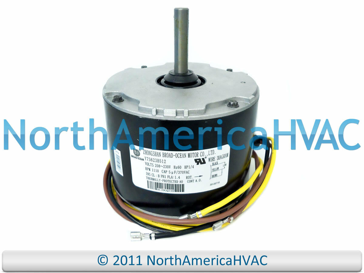 Ge condenser fan motor 1 4 hp 208 230v 5kcp39fgy563s eur for Carrier condenser fan motor replacement