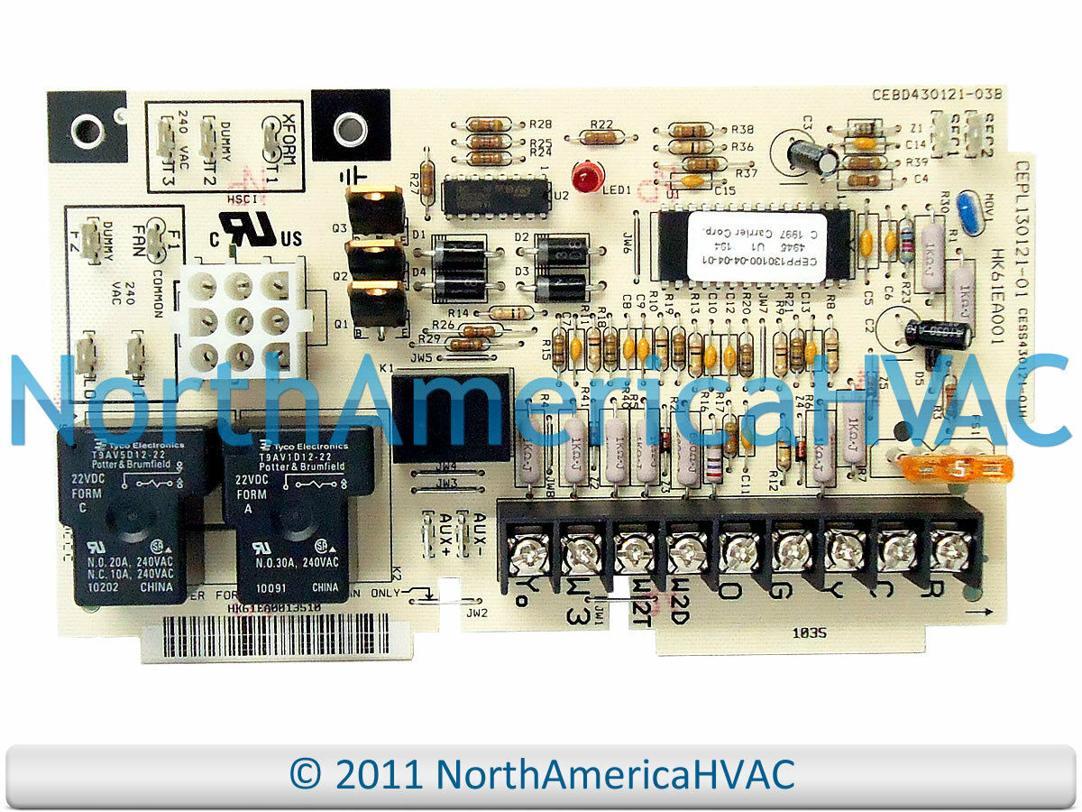 Carrier Bryant Payne Control Circuit Board Hk61ea001 $284 99 103s Pcb Wiring  Diagram
