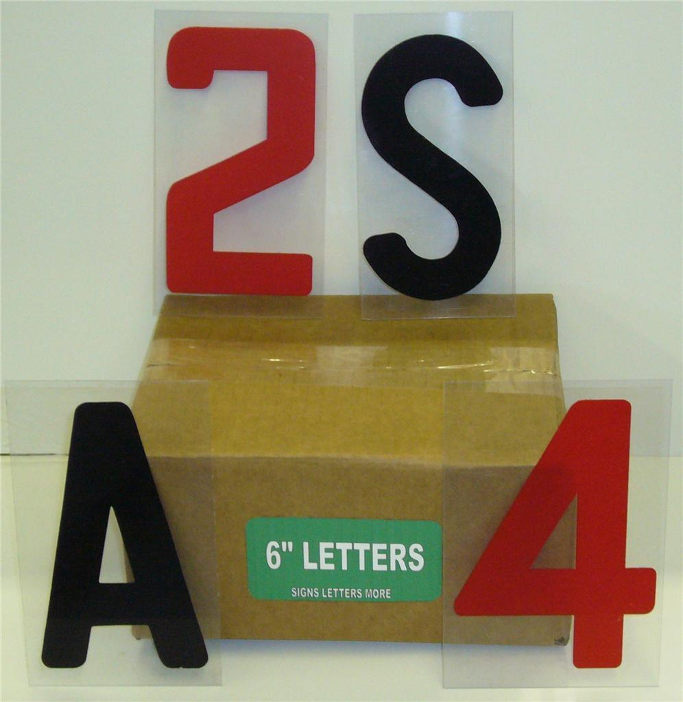 6 inch block sign letters 4 marquee readerboards 299 ct for Outdoor reader board letters