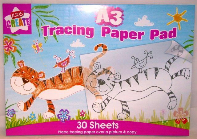 Kids Create: A3 Tracing Paper Pad • £4.50 - PicClick UK