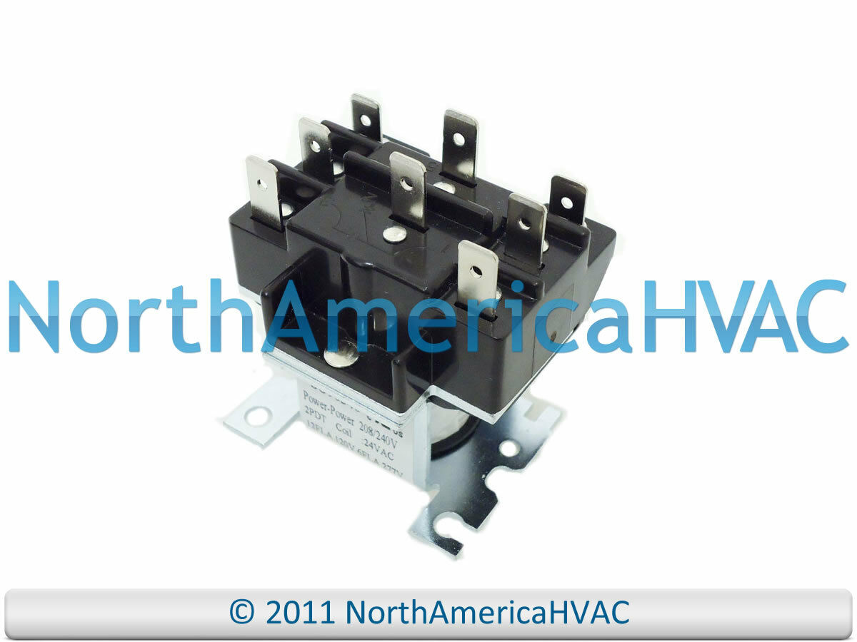 Honeywell Furnace Relay R8222b 1059 24 Volt Coil 2no 2nc Contacts Electric Cost 1 Of 1free Shipping