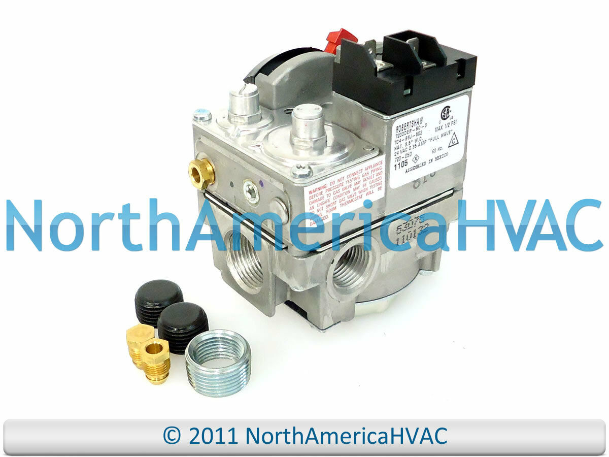 Robertshaw Furnace Gas Valve 7100DER-LP-SO-5 7100DERB-5-SO-2 7100DER-5-LP-SO-2