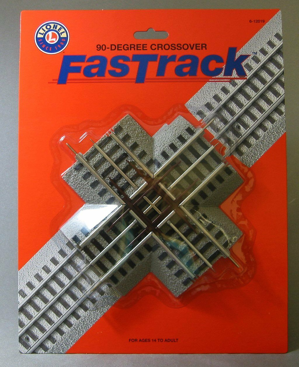 Lionel Fastrack 90 Degree Cross Over Train Track Fasttrack O Gauge 6 Trains Supero Remote Control Switches No 112 1 Of 2 See More