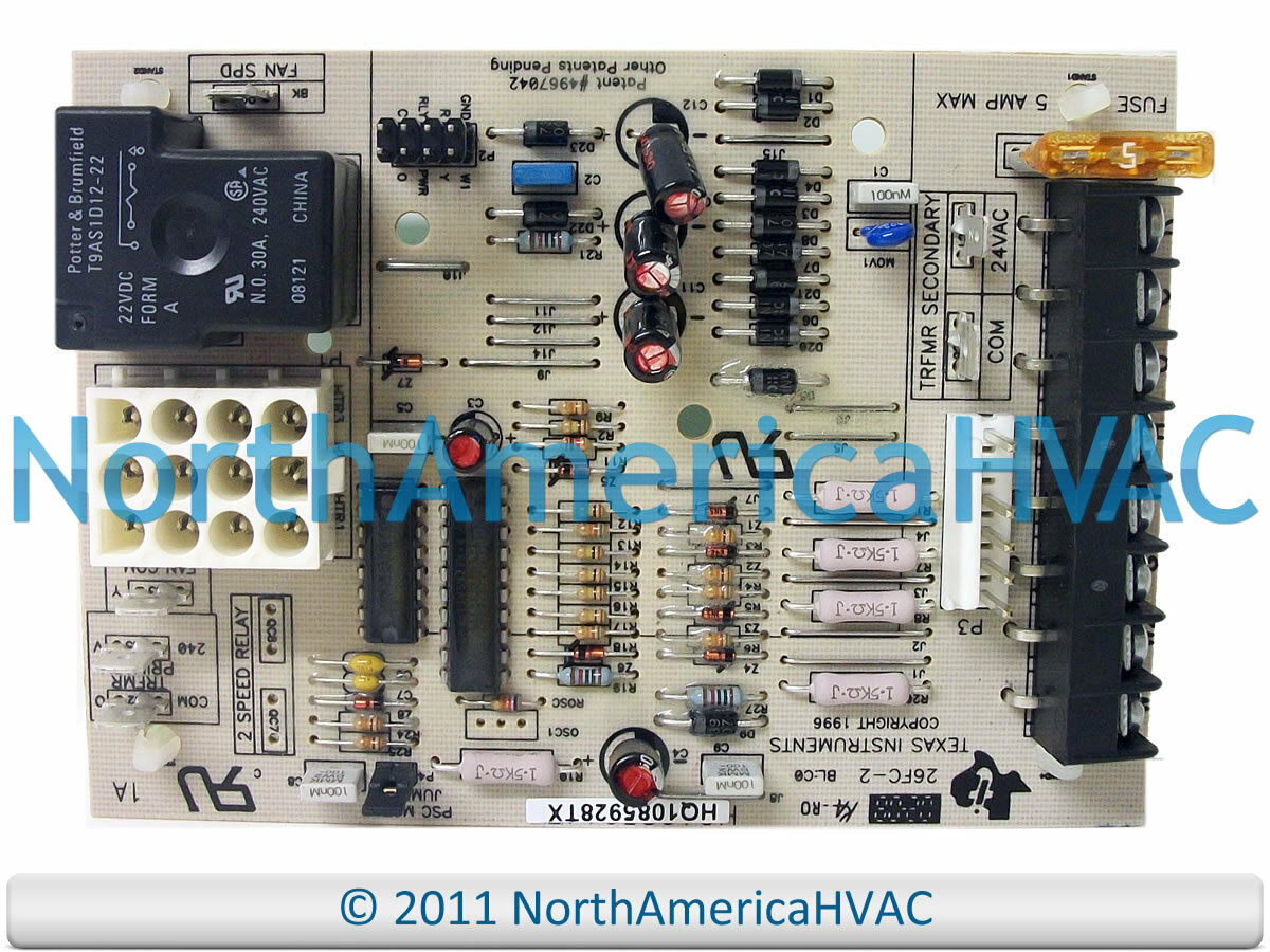 OEM ICP Tempstar Heil Furnace Fan Control Circuit Board 1085914 HQ1085914TX  1 of 1FREE Shipping See More