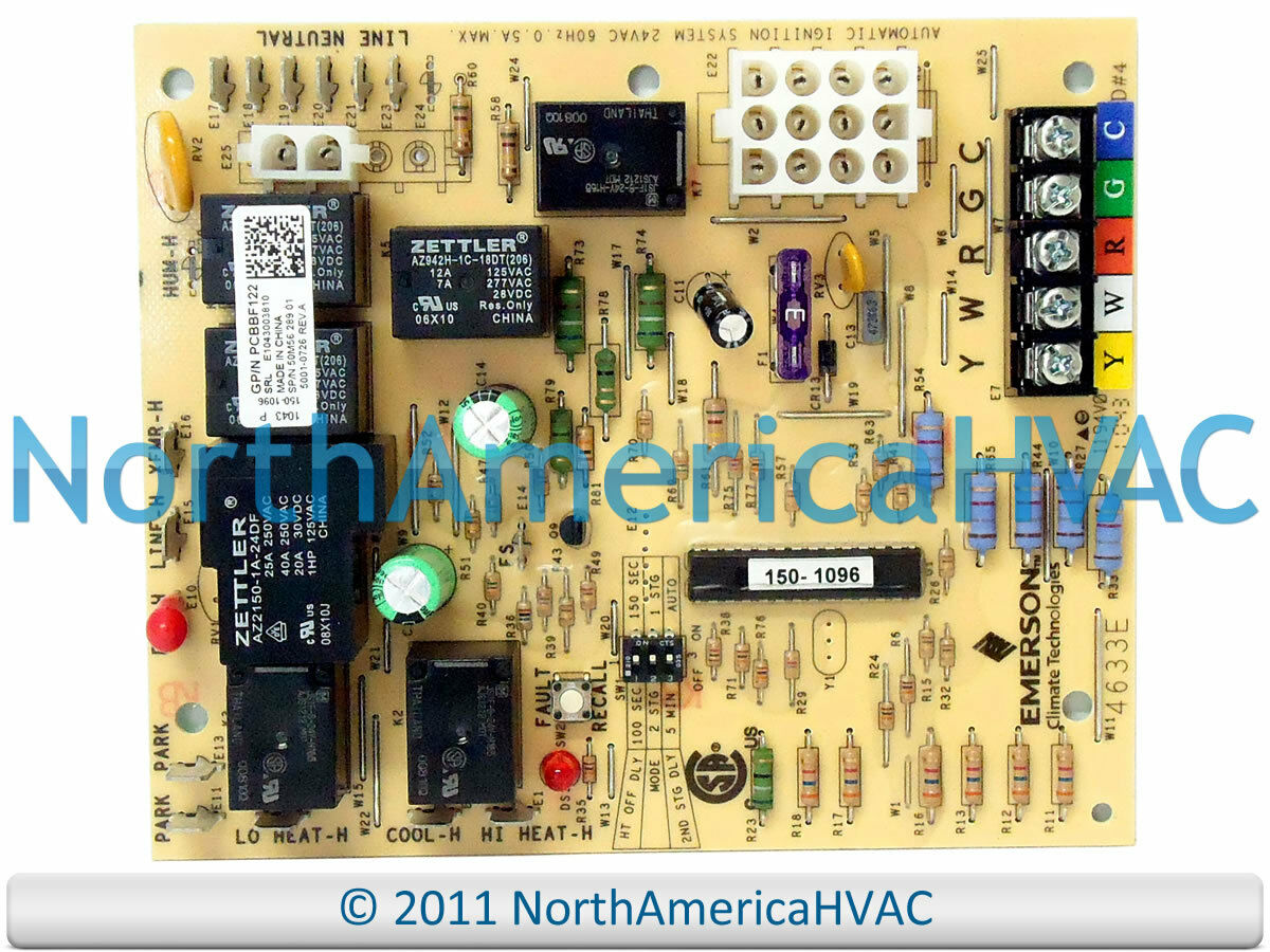 Goodman Amana White Rodgers Furnace Control Circuit Board goodman amana white rodgers furnace control circuit board 50a65 289