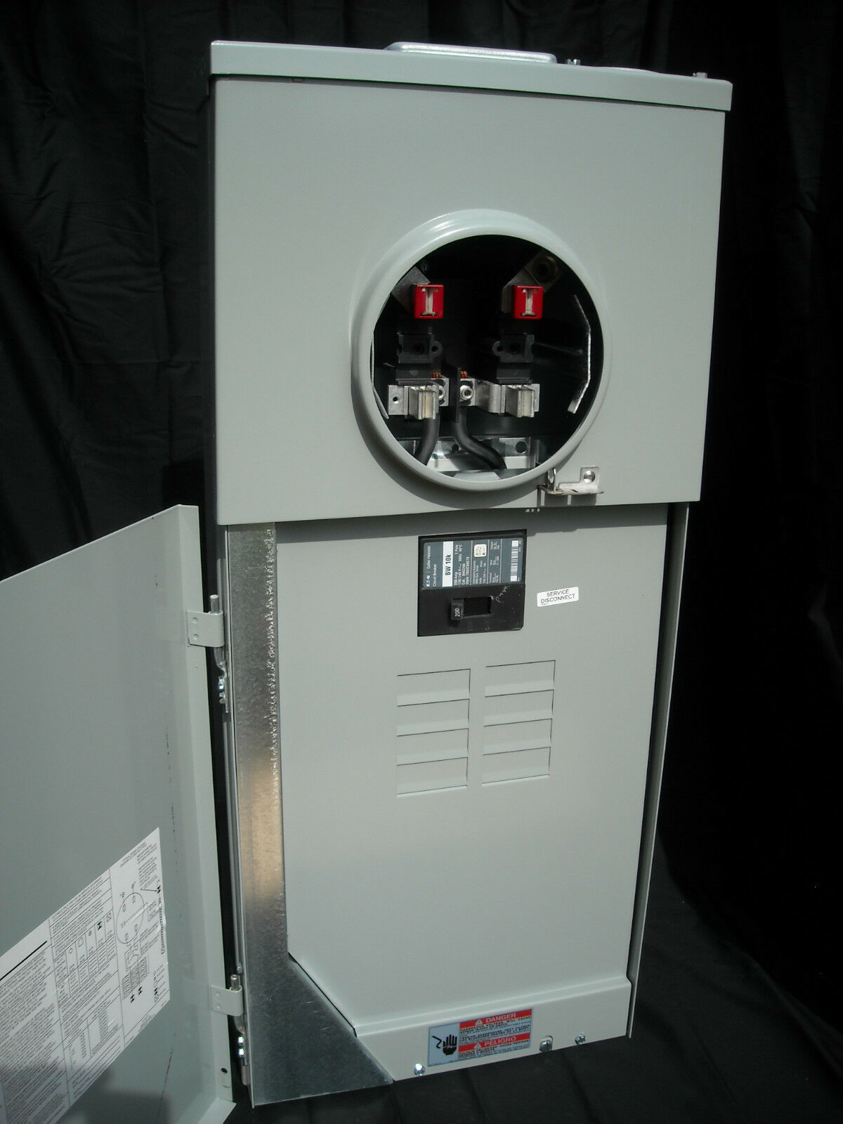 New Eaton Cutler Hammer 200 Amp Meter Breaker Panel Mb816b200bts Shop Square D Homeline 40amp 2pole Circuit At Lowescom 1 Of 9 See More