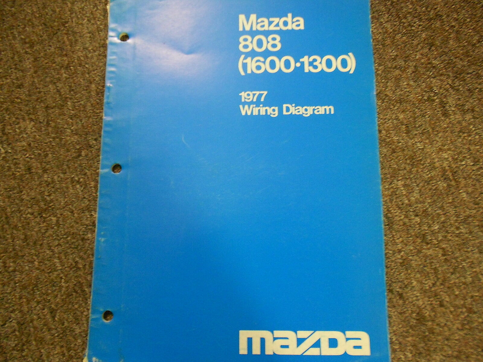 1977 Mazda 808 Electrical Wiring Diagram Service Repair Shop Manual BOOK 77  1 of 7Only 2 available ...
