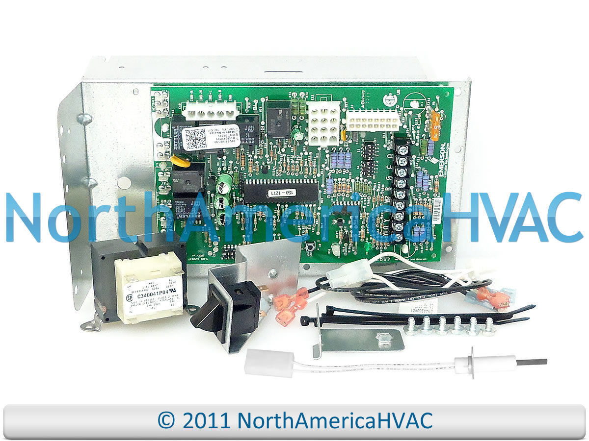 Trane White Rodgers Furnace Control Circuit Board 50a51 507 50v51 Wiring Diagram 90 1 Of See More