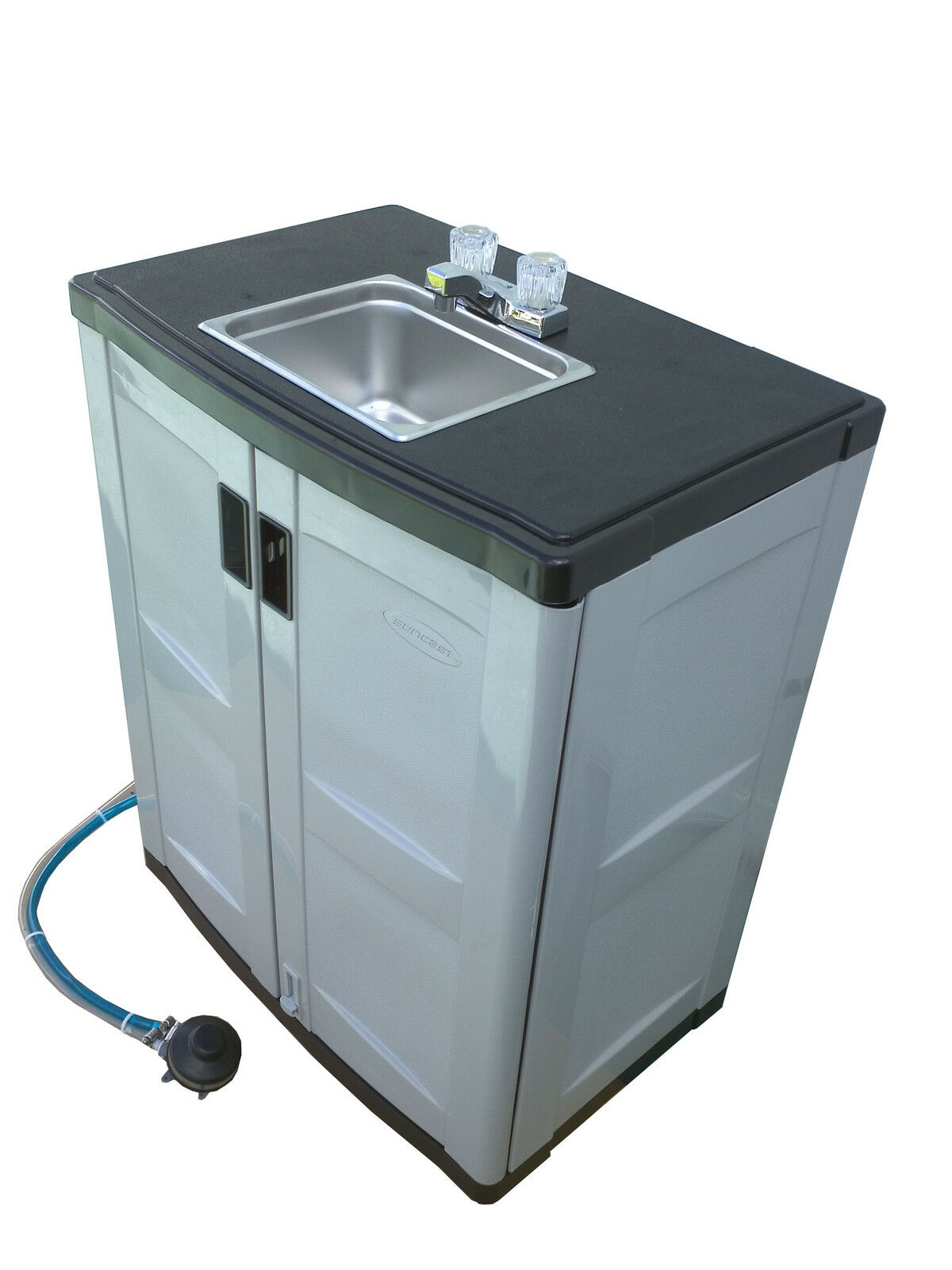 Plastic Portable Sink : Self contained Portable Handwash Sink with Warm Water ? $649.00 1 of ...