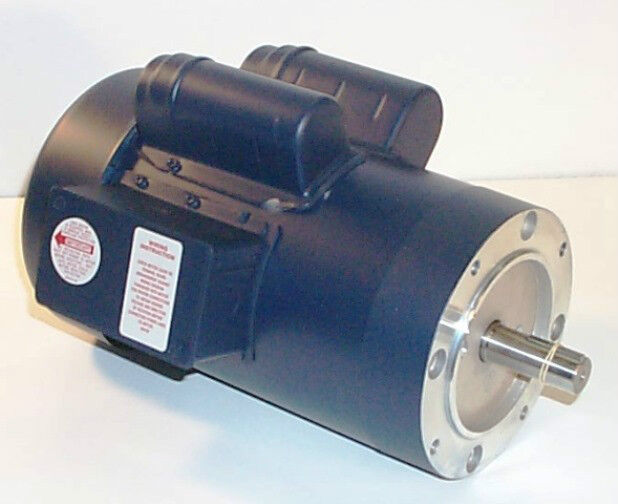 3 hp leeson 120824 3450 rpm tefc 1 phase electric motor for 3 hp single phase electric motor