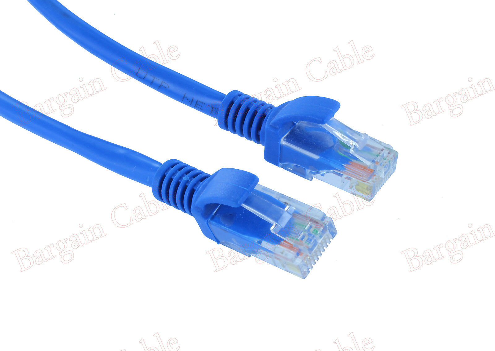 2 Pack 1ft Feet Rj45 Cat5e Lan Network Cable For Ethernet Router To Cat6 550mhz Standards Switch Modem Patch 1 Of 1free Shipping