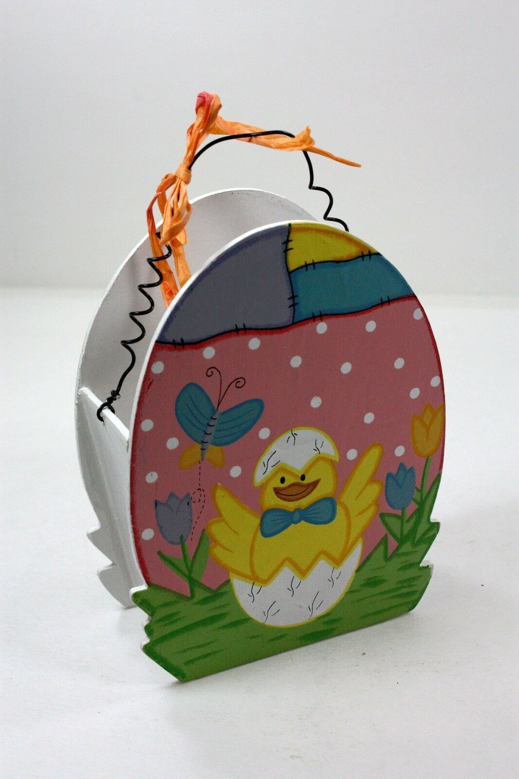 Holiday happy easter egg shaped gift box home decoration chick holiday happy easter egg shaped gift box home decoration chick butterfly negle Images