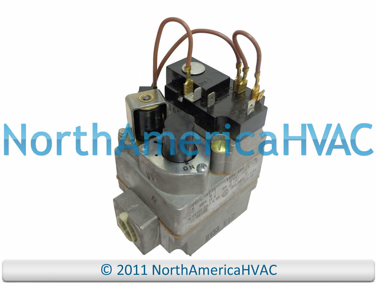 Oem White Rodgers York 24v Furnace Gas Valve 36c76 205 36e54 214 Wiring Diagram 1 Of 1only Available