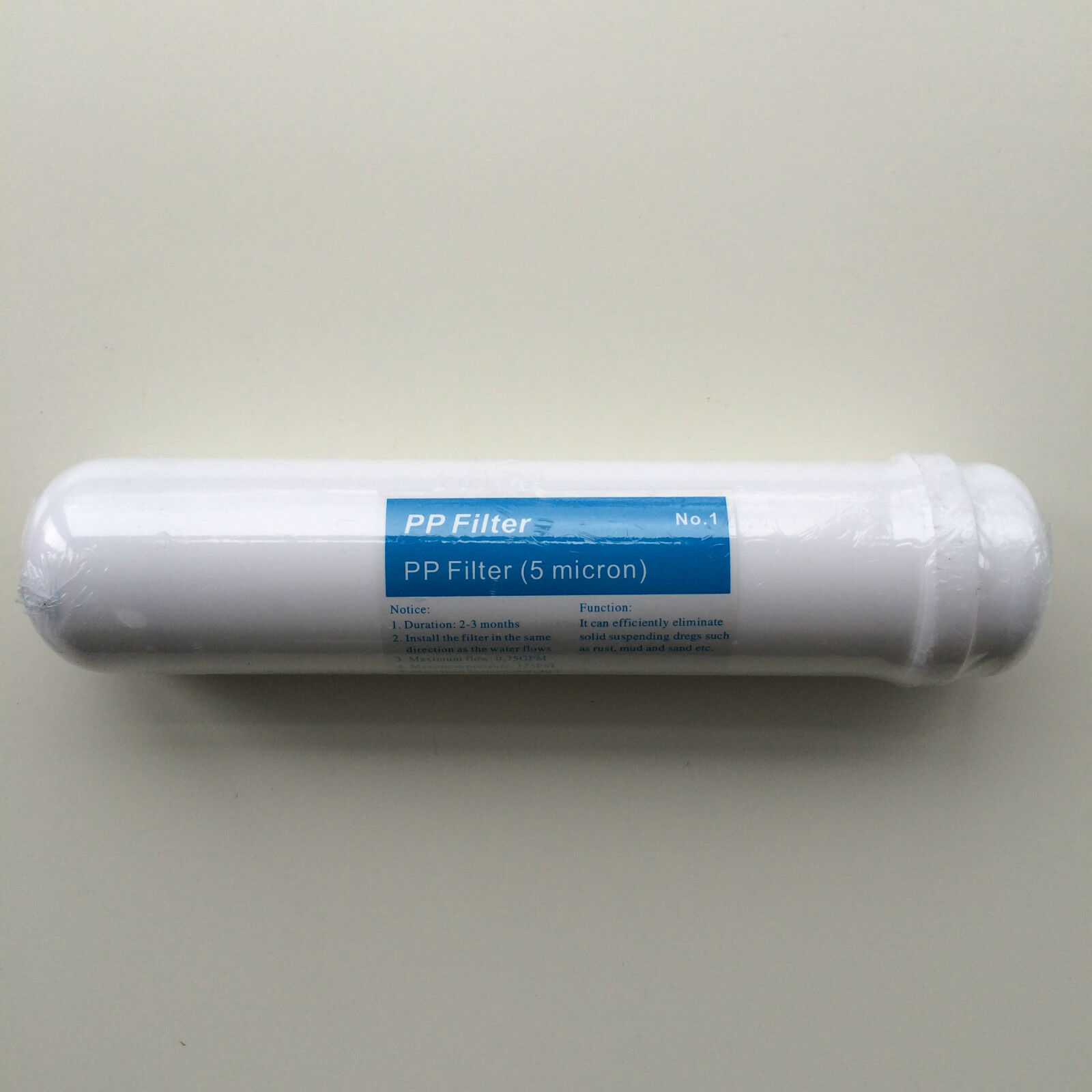 Inline Sediment Filter Undersink Replacement for Compact RO Reverse Osmosis Unit