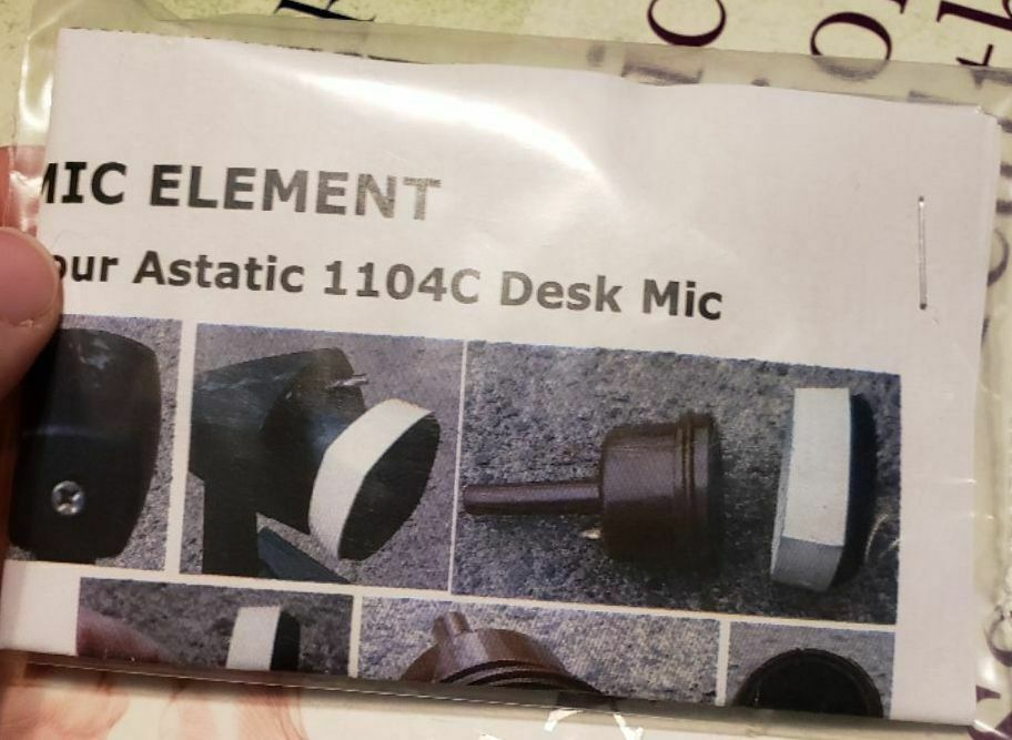 W2eny Hifi Electret Element Upgrade Your Astatic 1104c Amplified Condenser Microphone Schematic For The Yaesu Mh31 1 Of See More