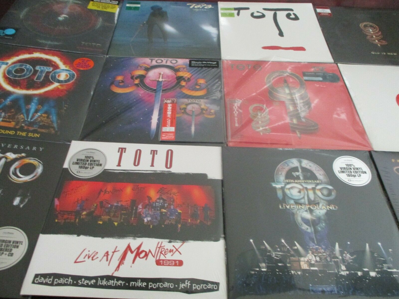 TOTO S/T & Iv Analog S 180 Gram Lps+Replica Japan Cds + Toto Vix + ...