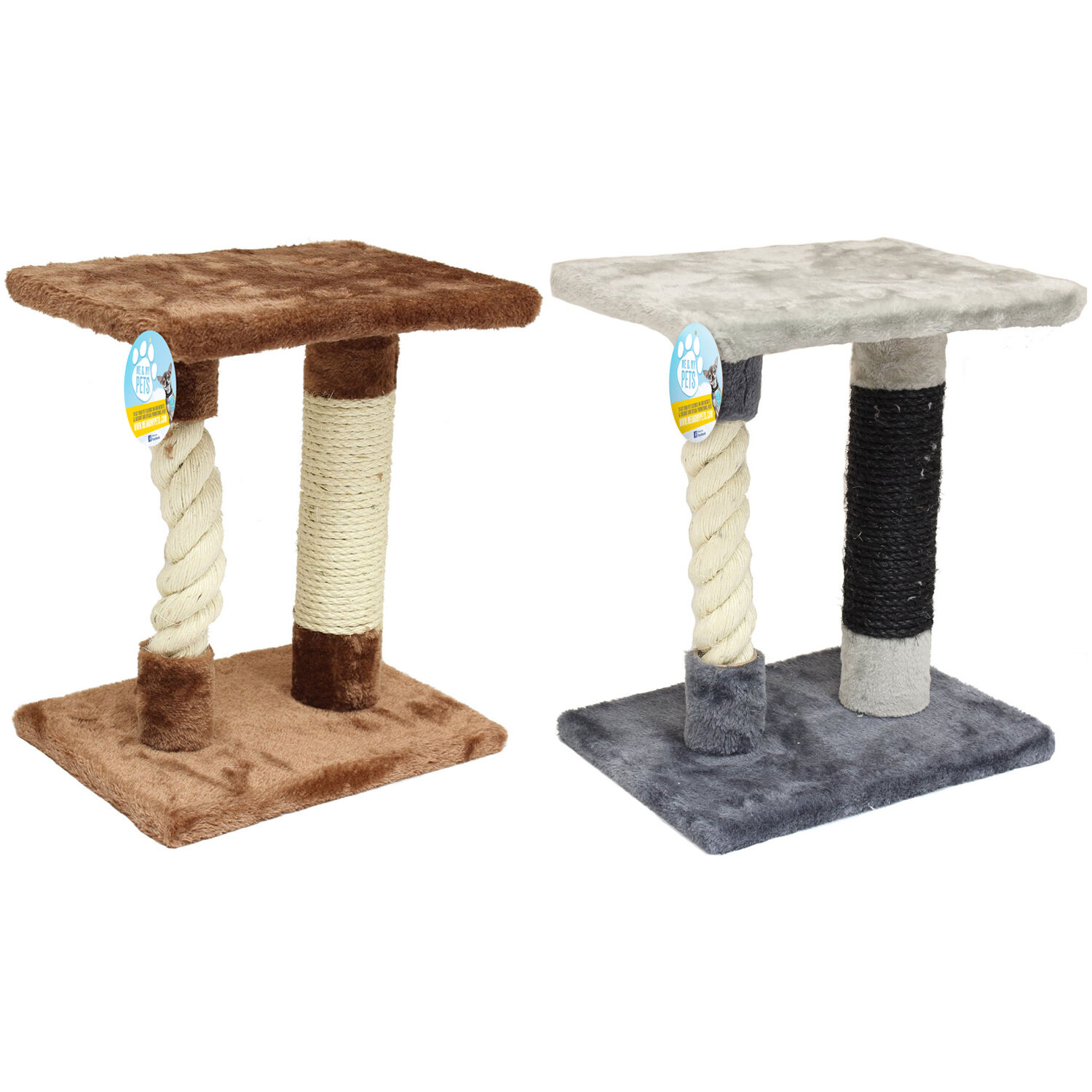 Me & My Pet Cat/kitten Sisal Rope Scratcher Tree Activity/play Centre/station