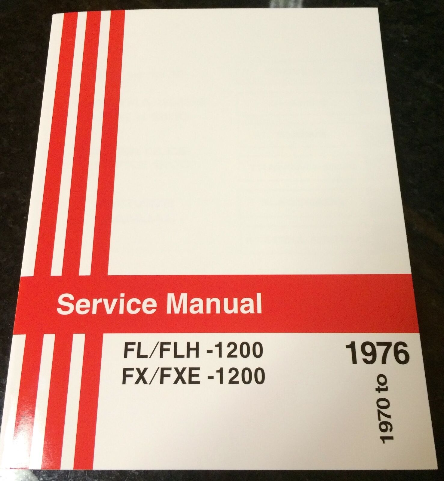 Harley Fl Fx Service Manual 1970 To 1976 Shovelhead Flh Fxe Wiring Diagram Diagrams 1 Of 4only 4 Available