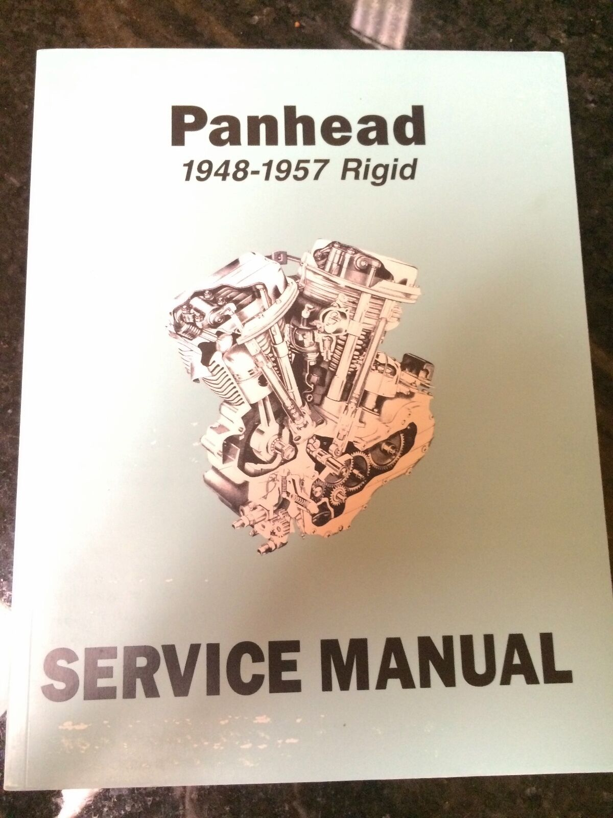 Harley El Fl Flh Service Manual 1948 To 1957 Panhead Rigid Hydra. 1 Of 5only 3 Available. Wiring. 1961 Panhead Wiring Schematic At Scoala.co