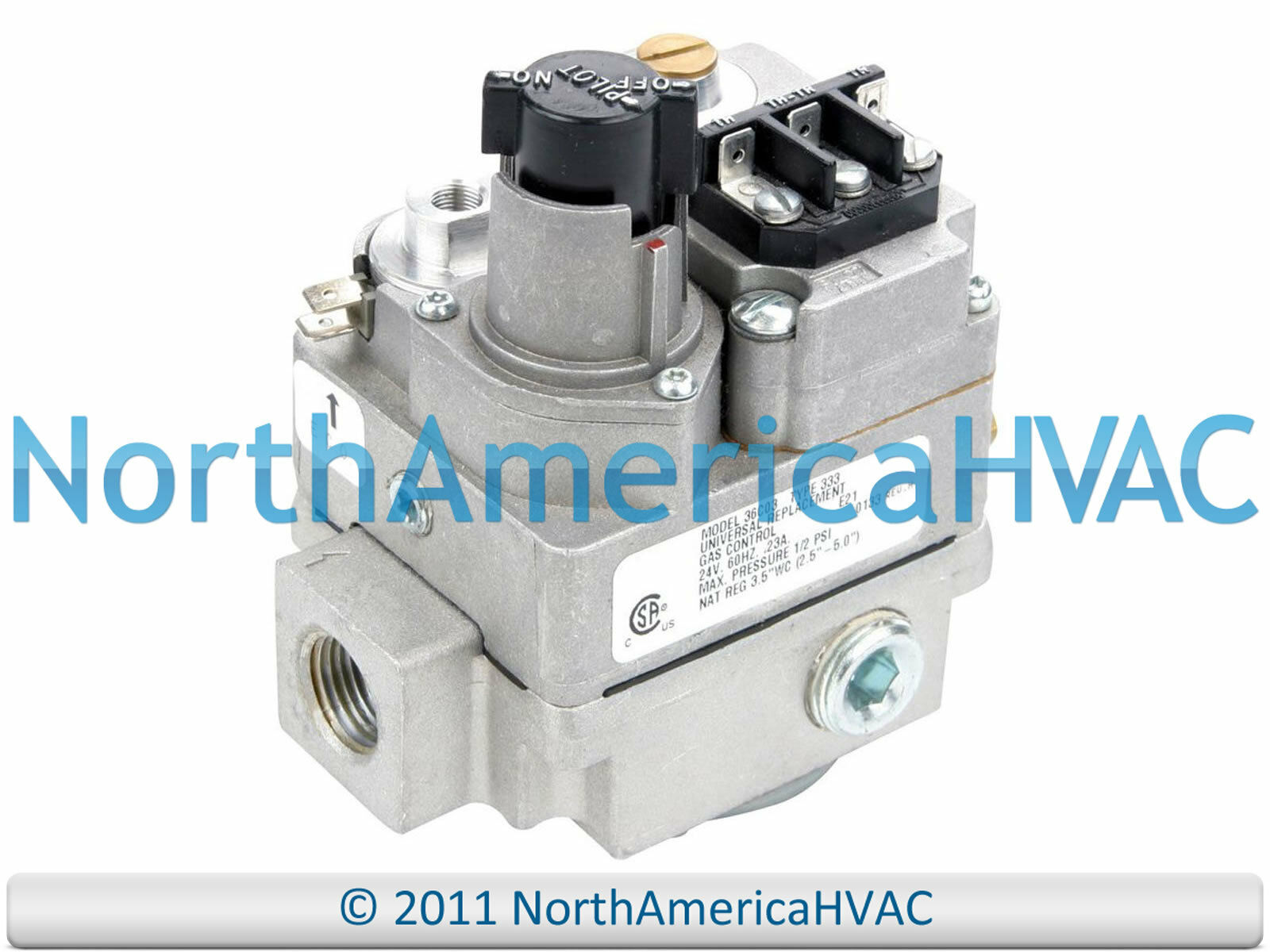 York Coleman Luxaire Furnace Gas Valve S1 3603 300 Nat Lp 14499 Wiring Diagram 1 Of See More