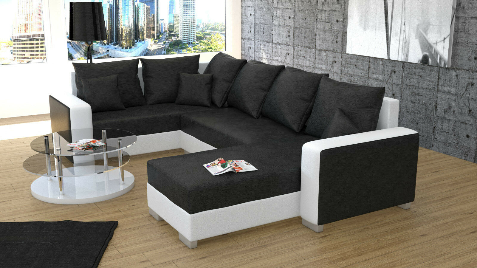 sofa couchgarnitur couch sofagarnitur palio 1 u. Black Bedroom Furniture Sets. Home Design Ideas