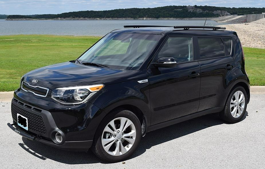 2014 Kia Soul Quot Hybrid Quot Roof Rails Rack Black Powder