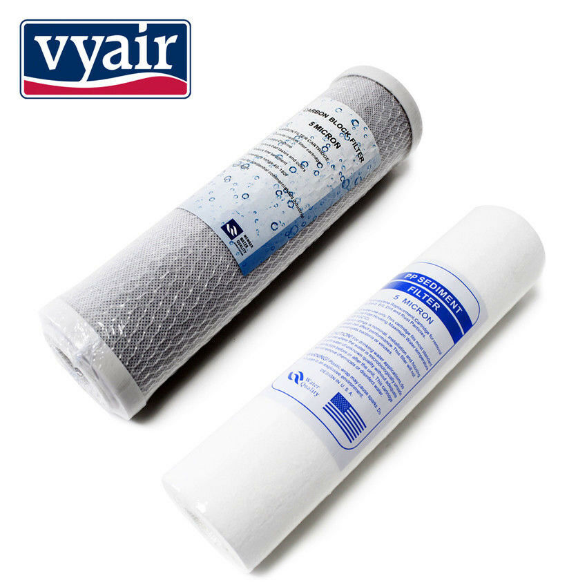 Spare Filters Vyair RO-50M - 2 Pre Filters for Reverse Osmosis Water Filters