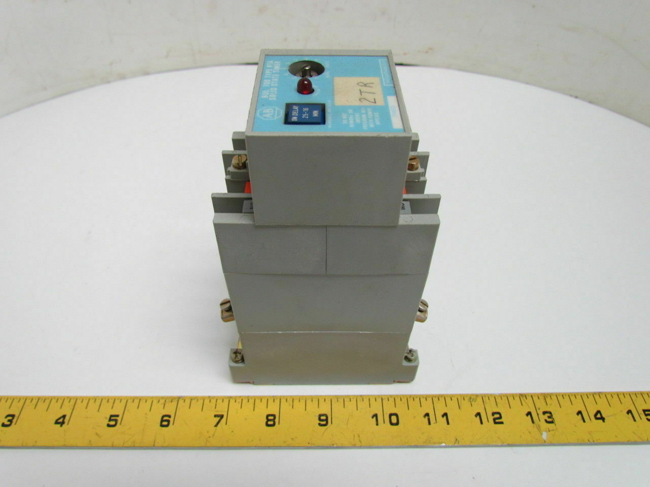 Allen Bradley 700 Rta11v110a1 Solid State Time Delay Relay Timer Nc No And Contacts Of