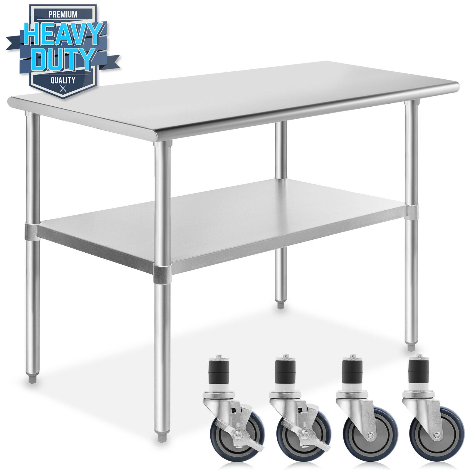 Stainless Steel Commercial Kitchen Work Food Prep Table W
