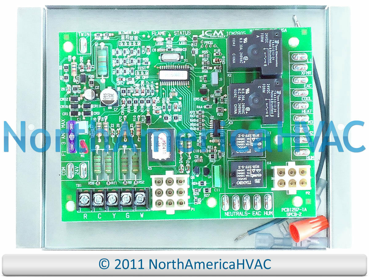 Honeywell Nordyne Control Board 1012 955a Pcb1297 1a 15995 Circuit Wiring Diagrams 1 Of See More