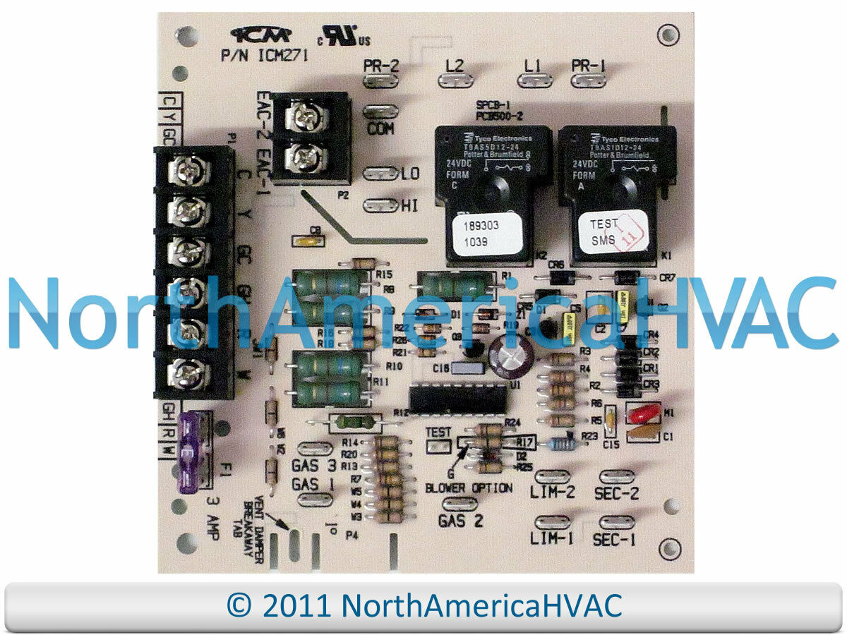 Carrier Bryant Payne Furnace Blower Fan Control Circuit Board Electric Wiring Diagrams For Hh84aa012 1 Of 1free Shipping