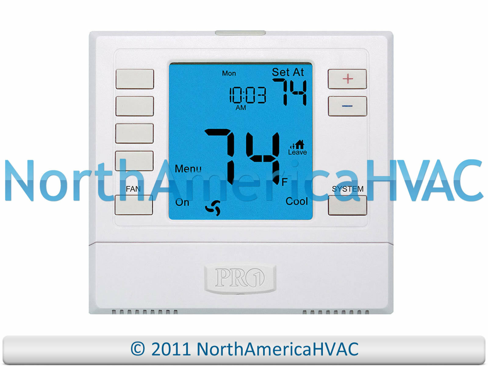 Pro1 T755 Digital 511 Day Programmable Hp Thermostat 3h2c 3 Heat