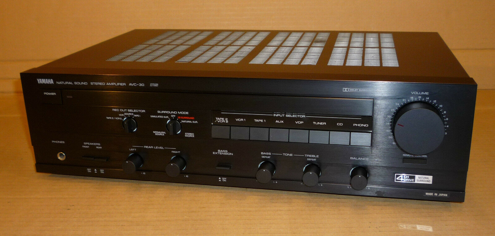 Yamaha natural sound surround 4 channel amplifier amp for Yamaha audio customer service