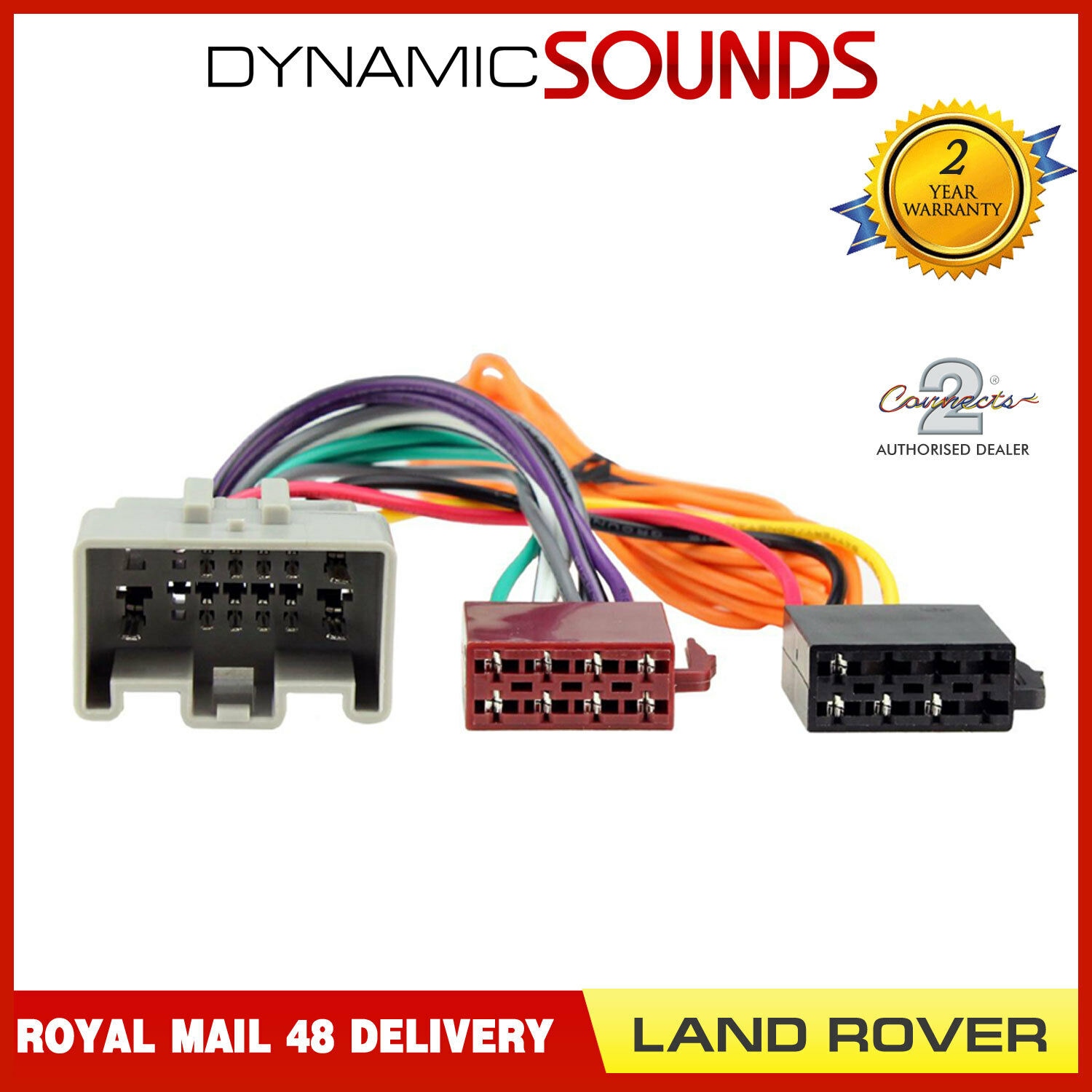 Ct20lr04 Stereo Radio Iso Wiring Harness Adaptor For Land Rover Freelander 2010 1 Of 2free Shipping See More