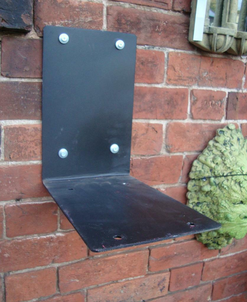 Metal Wall Bracket Mount Stand for Royal Mail Post Box ER GR - Wall Mounting