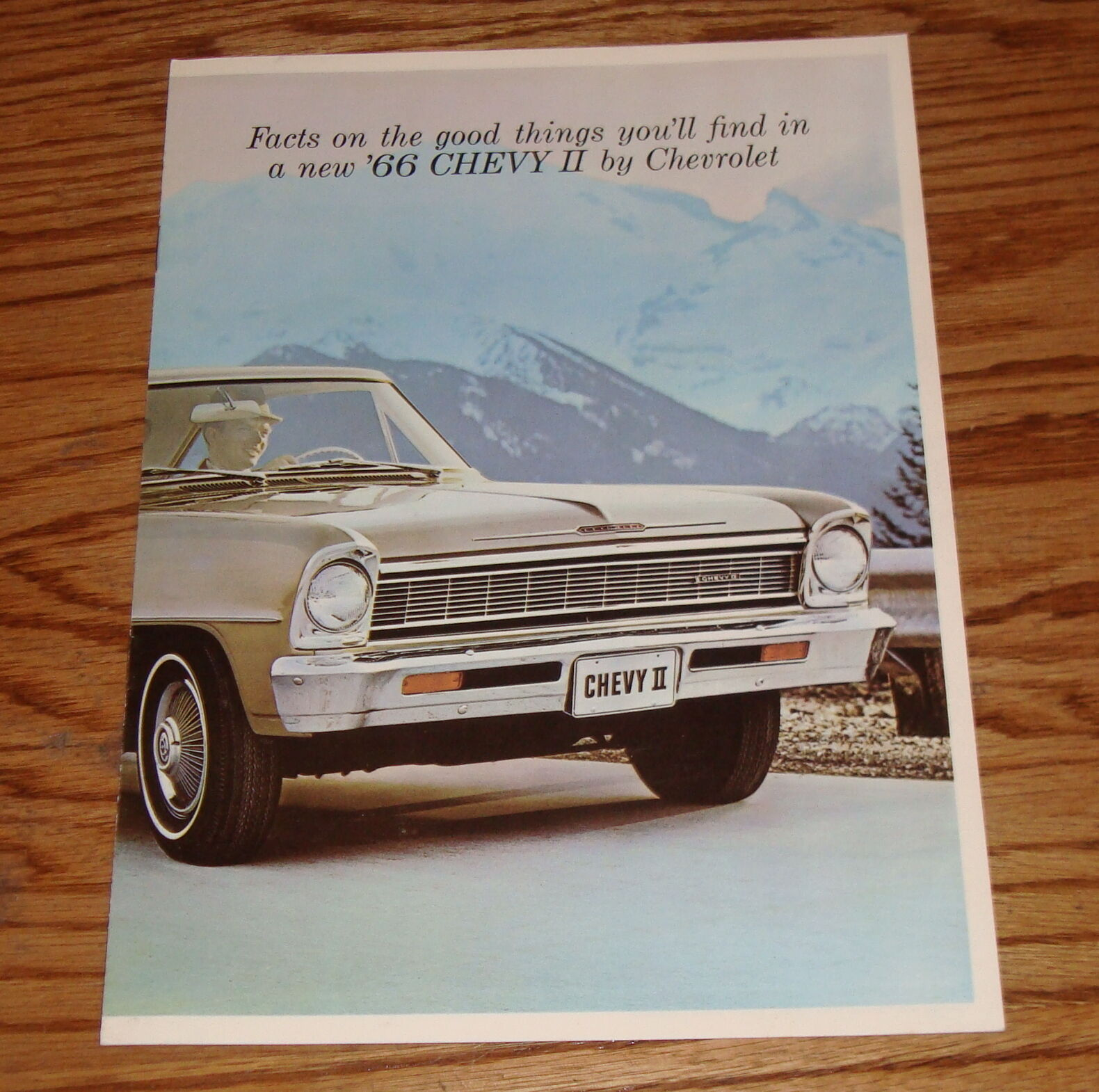 Original 1966 Chevrolet Chevy Ii Nova Sales Brochure 66 917 1 Of 2