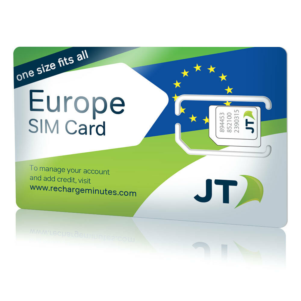 1 of 4only 2 available - Europe Travel Sim Card